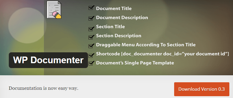 wp-documenter