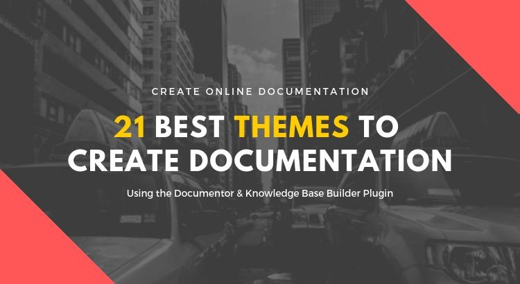 documentor wordpress plugin theme to create online documentation